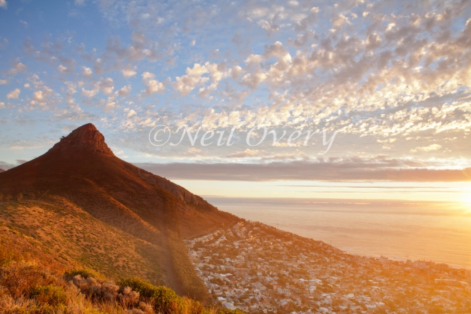 Lion's Head and Sea Point, Cape Town, South Africa