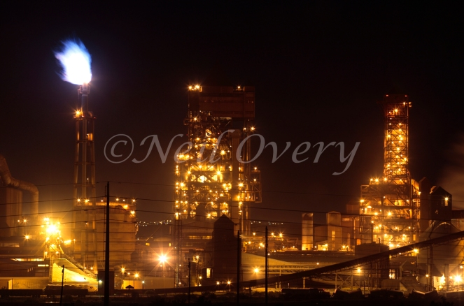 Saldanha Steel Mill, Saldanha Bay, Western Cape, South Africa - Saldanha Steel Mill is part of Mittal Steel South Africa (part of the global Arcelor Mittal Group) and produces 1.25 million tons of hot-rolled carbon steel coil per year mainly for the export market. The mill was commissioned in 1998.