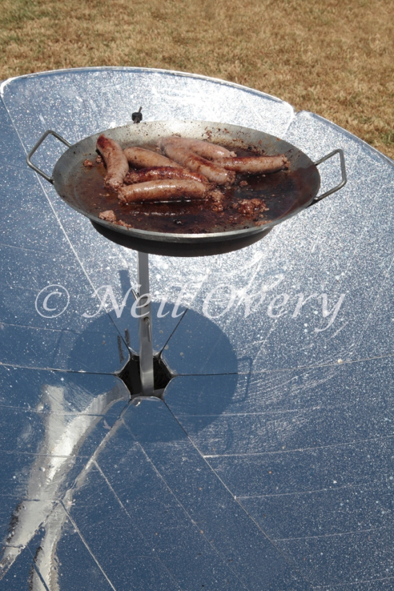 Solar Cooker, Cape Town, South Africa