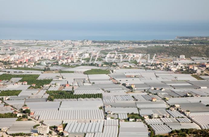 Greenhouses in Demre, Antalya Province, Turkey