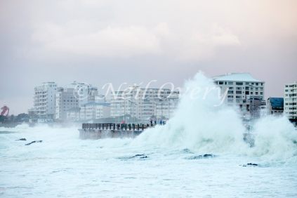 Atlantic Winter Storm, Sea Point, Cape Town, Western Cape, South Africa