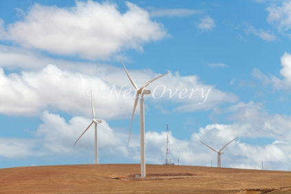 Wind farm nr Ceres, Western Cape, South Africa
