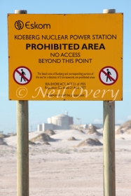Koeberg Nuclear Power Station, Africa's only nuclear power station, Koeberg, Western Cape, South Africa