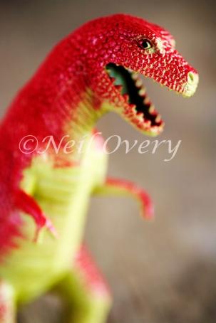 Plastic Toy Dinosaur