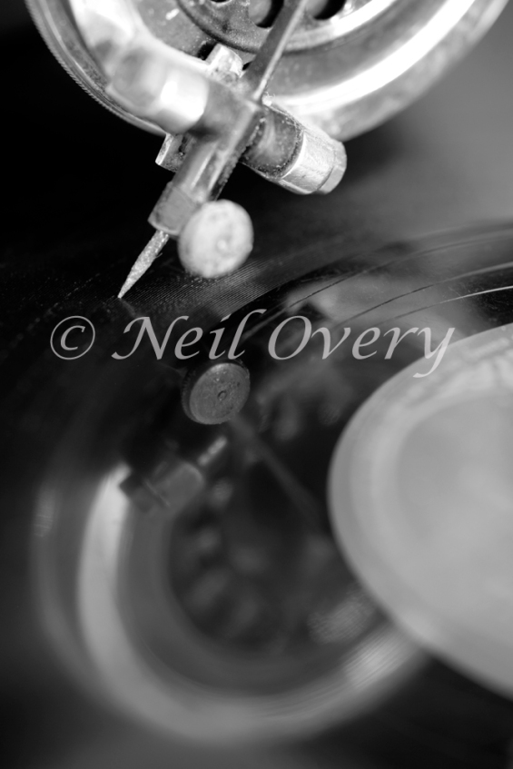 Gramaphone Needle and Record