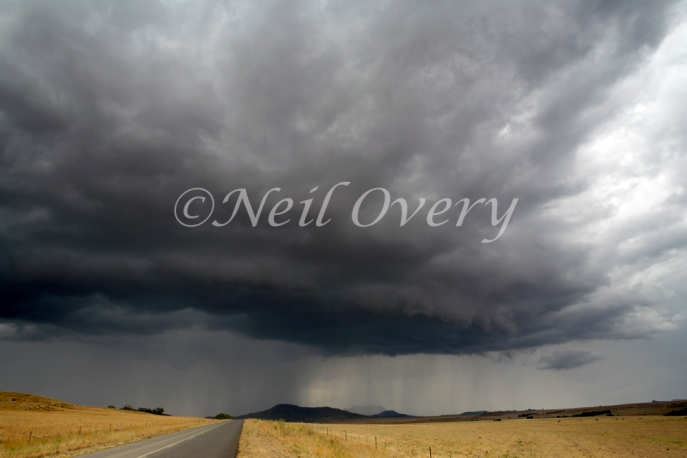 Approaching Storm, Free State, South Africa