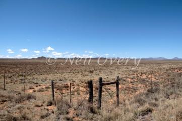 Typical Karoo Desert Landscape, Nr Middelberg, South Africa.