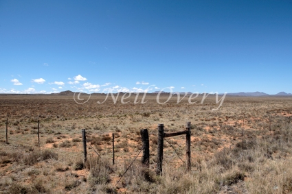 Typical Karoo Desert Landscape, Nr Middelberg, South Africa.
